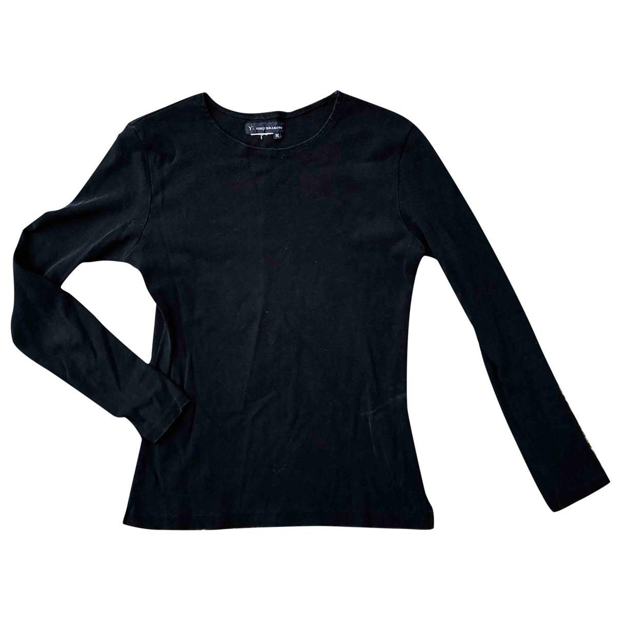 Yohji Yamamoto - Top   pour femme en coton - noir