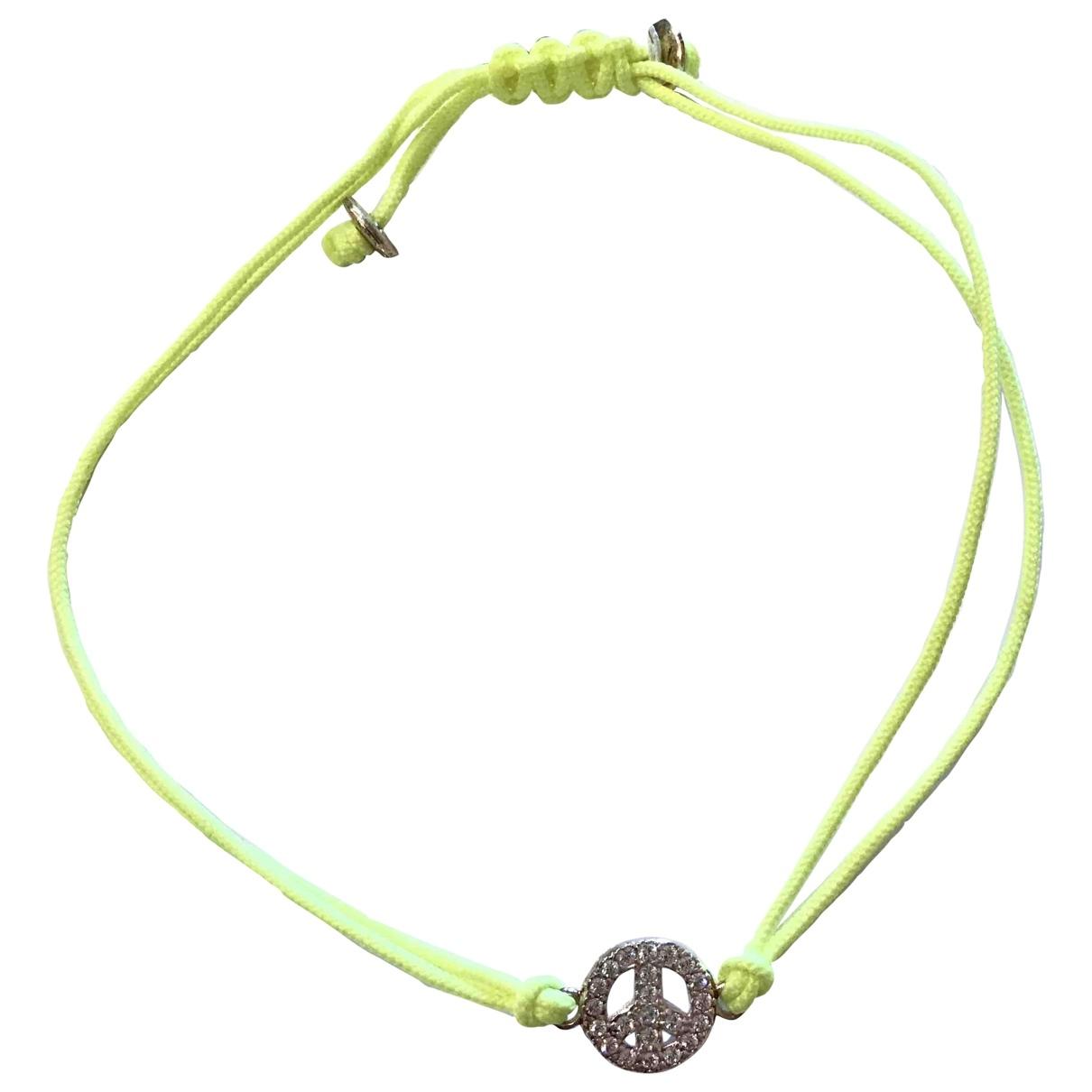 Reminiscence - Bracelet   pour femme en argent - jaune