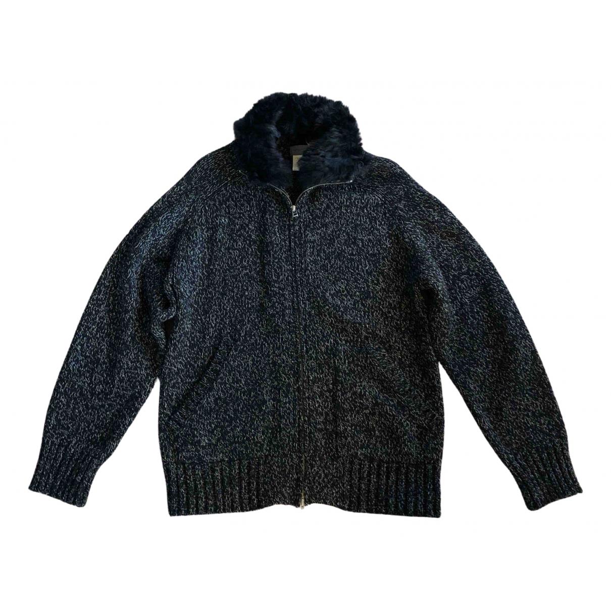 Yohji Yamamoto - Pulls.Gilets.Sweats   pour homme en laine - noir