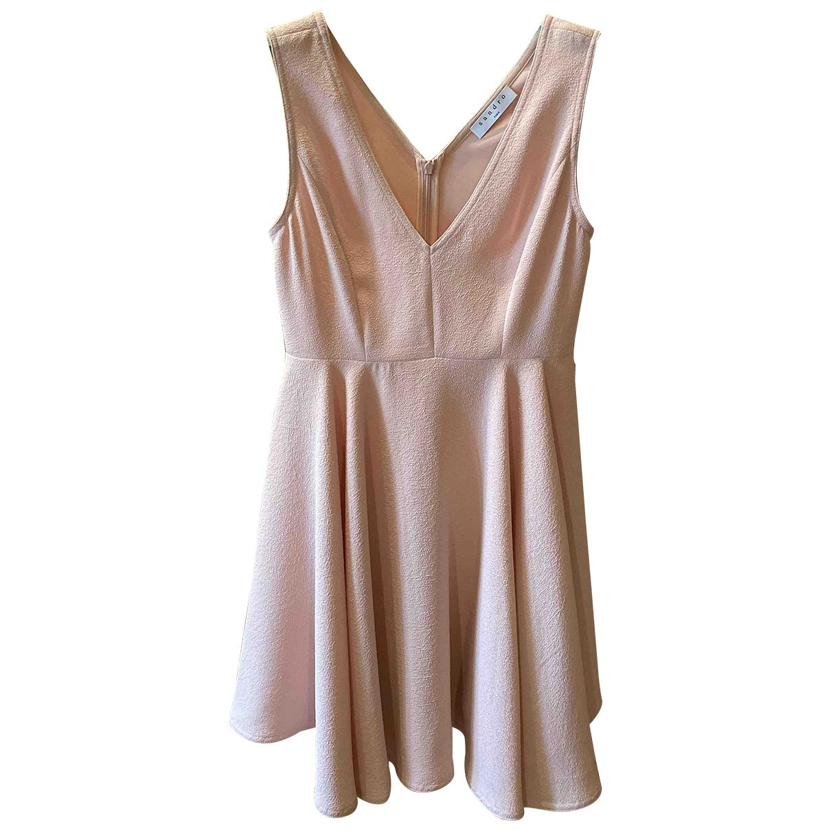 Sandro \N Pink dress for Women 36 FR