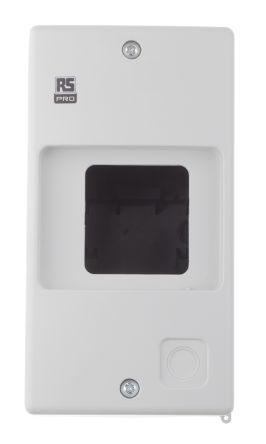 RS PRO Enclosure for use with MS32 & MSB32 Motor Protection Circuit Breakers