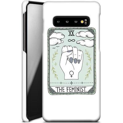 Samsung Galaxy S10 Smartphone Huelle - The Feminist von Barlena