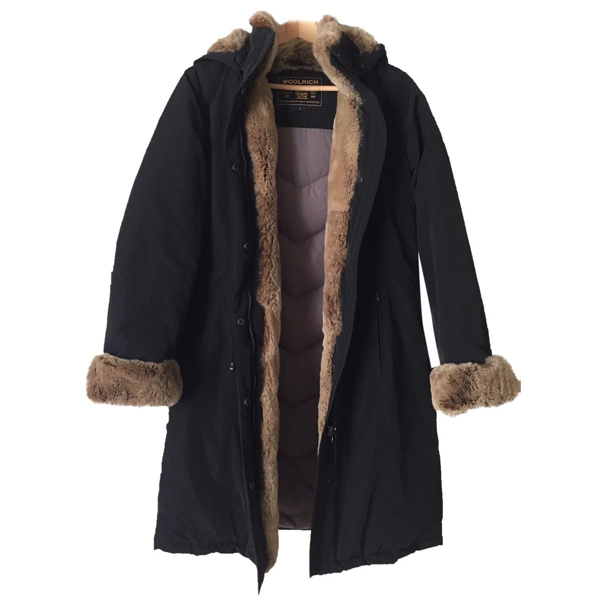Woolrich \N Maentel in  Schwarz Polyester