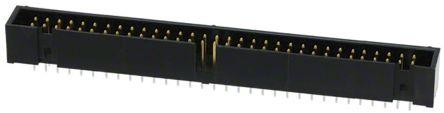 Hirose , HIF3FB, 3FB, 64 Way, 2 Row, Right Angle PCB Header