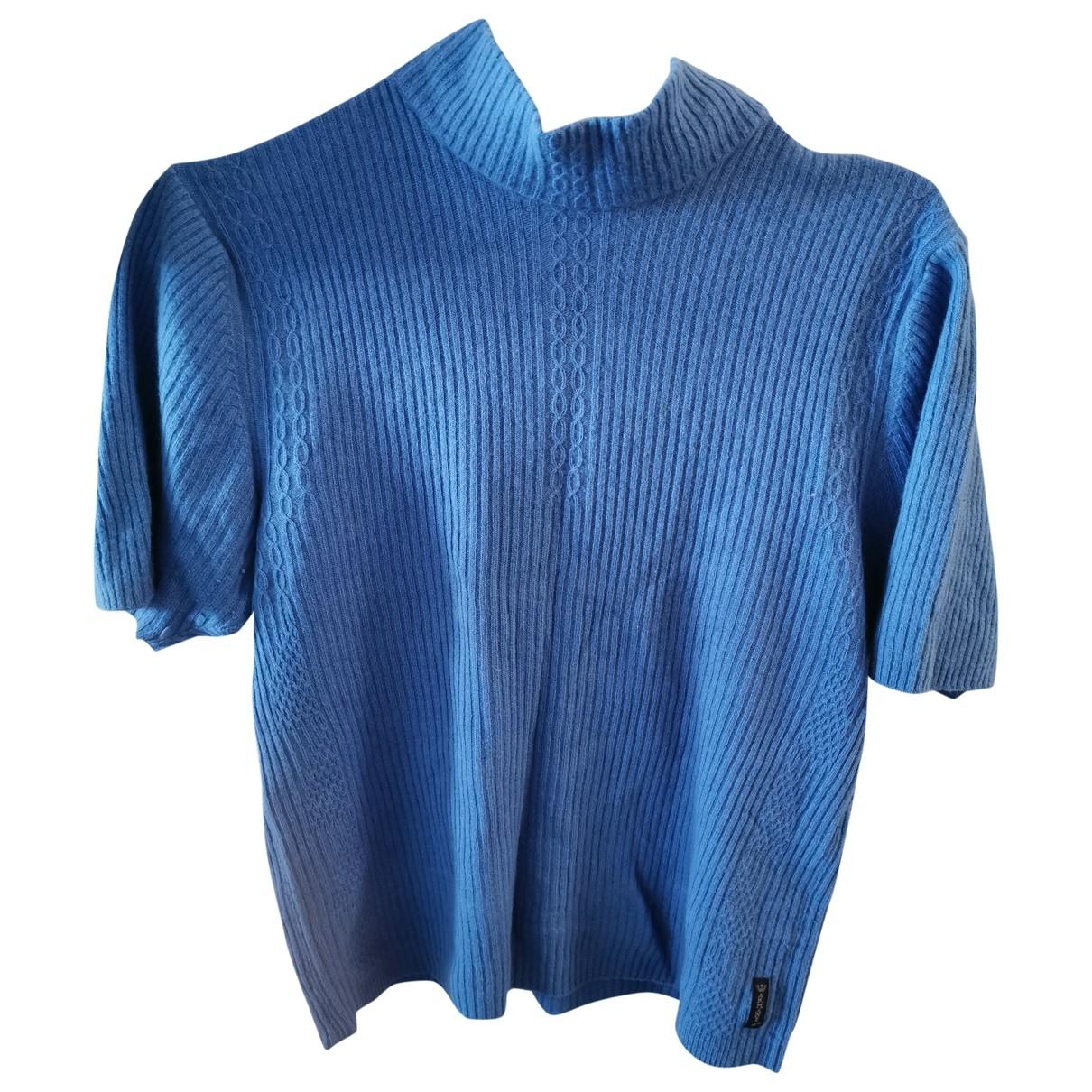 Armani Jeans \N Blue Wool Knitwear for Women 40 FR