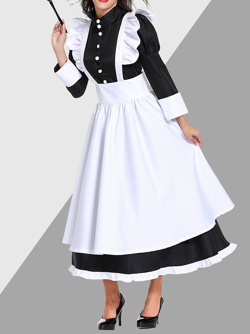 Ericdress Long Sleeve Bowknot Western Polyester Fall Costumes