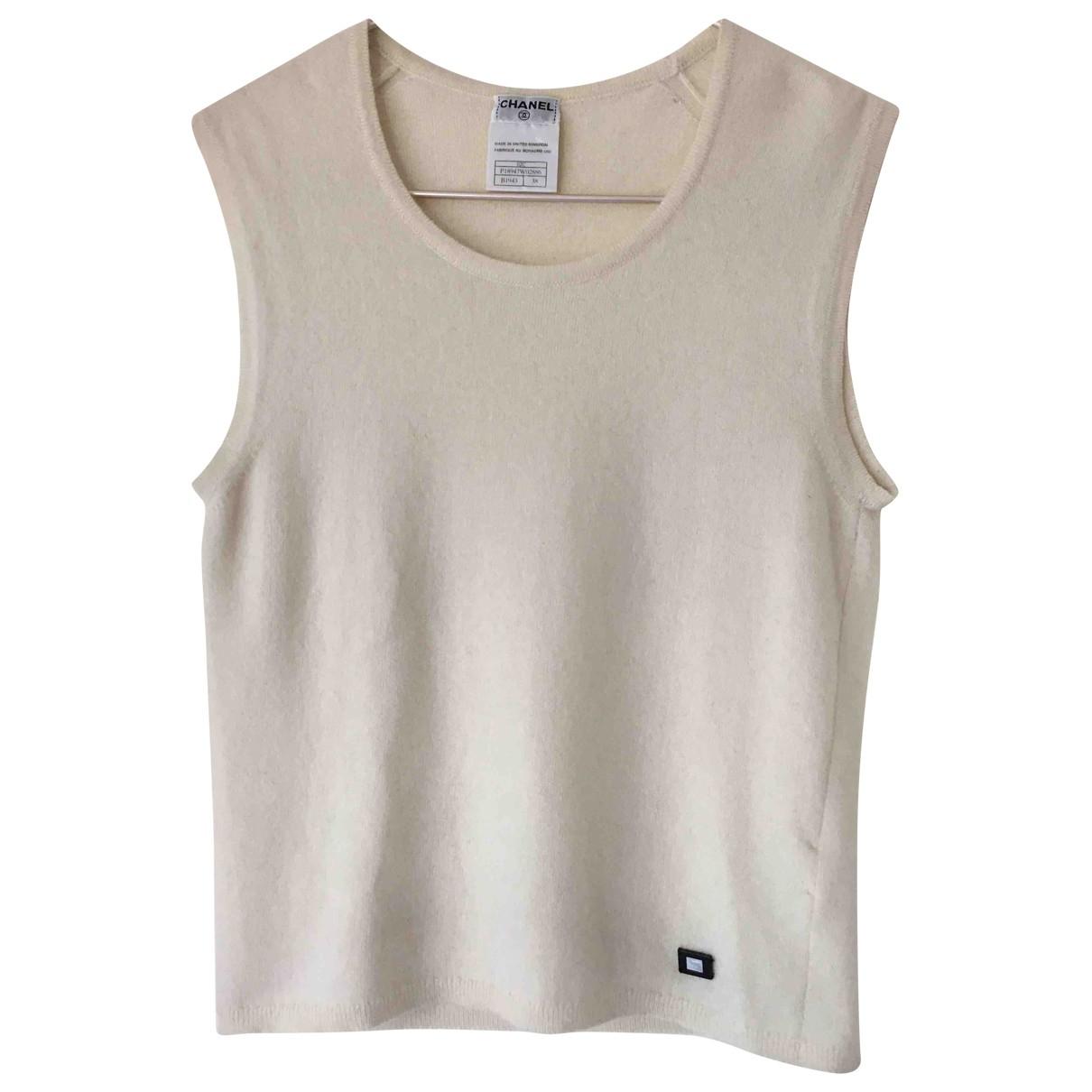 Chanel \N Ecru Cashmere Knitwear for Women 38 FR