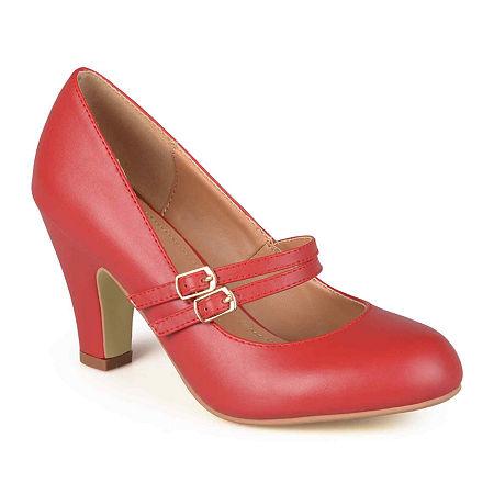 Journee Collection Womens Windy Pumps, 10 Medium, Red