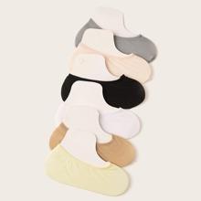 Einfache unsichtbare Socken 6 Paare
