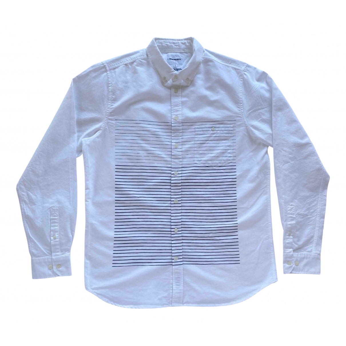 Norse Projects N White Cotton Shirts for Men L International