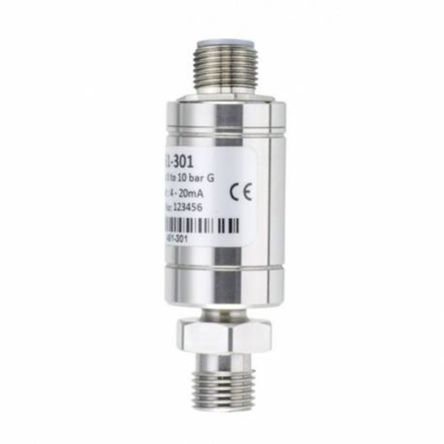 RS PRO Pressure Sensor, 750psi Max Pressure Reading Analogue