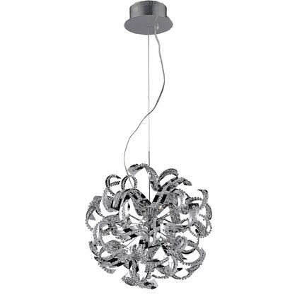 V2068D22C/EC Tiffany 13 Light Chrome Chandelier Clear Elegant Cut