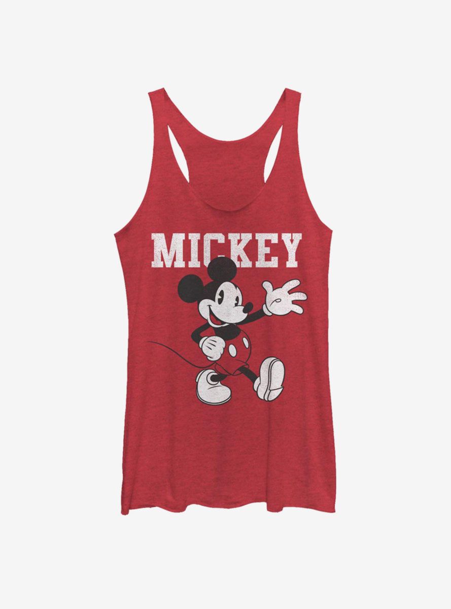 Disney Mickey Mouse Simply Mickey Womens Tank Top