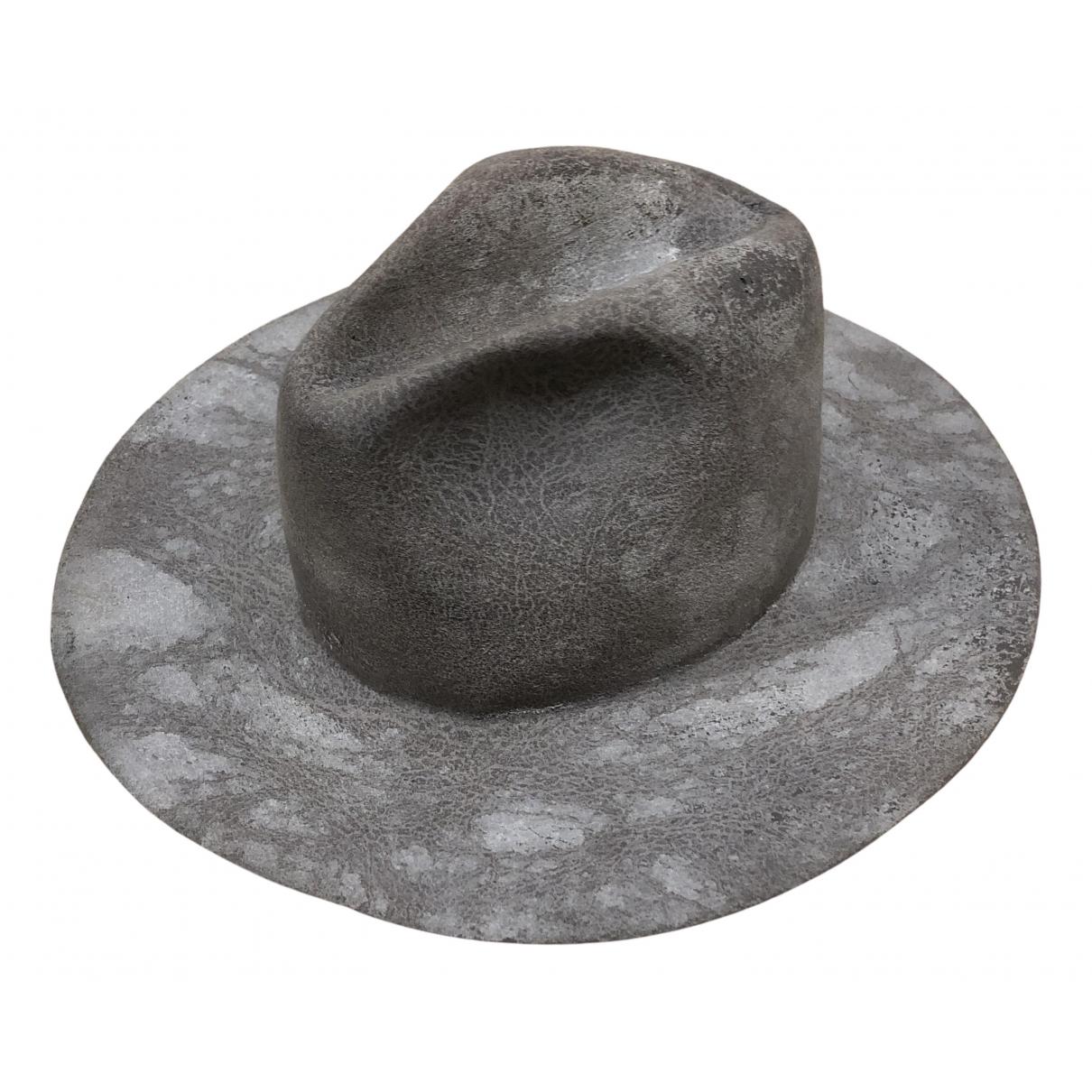 Reinhard Plank - Chapeau & Bonnets   pour homme en laine - gris