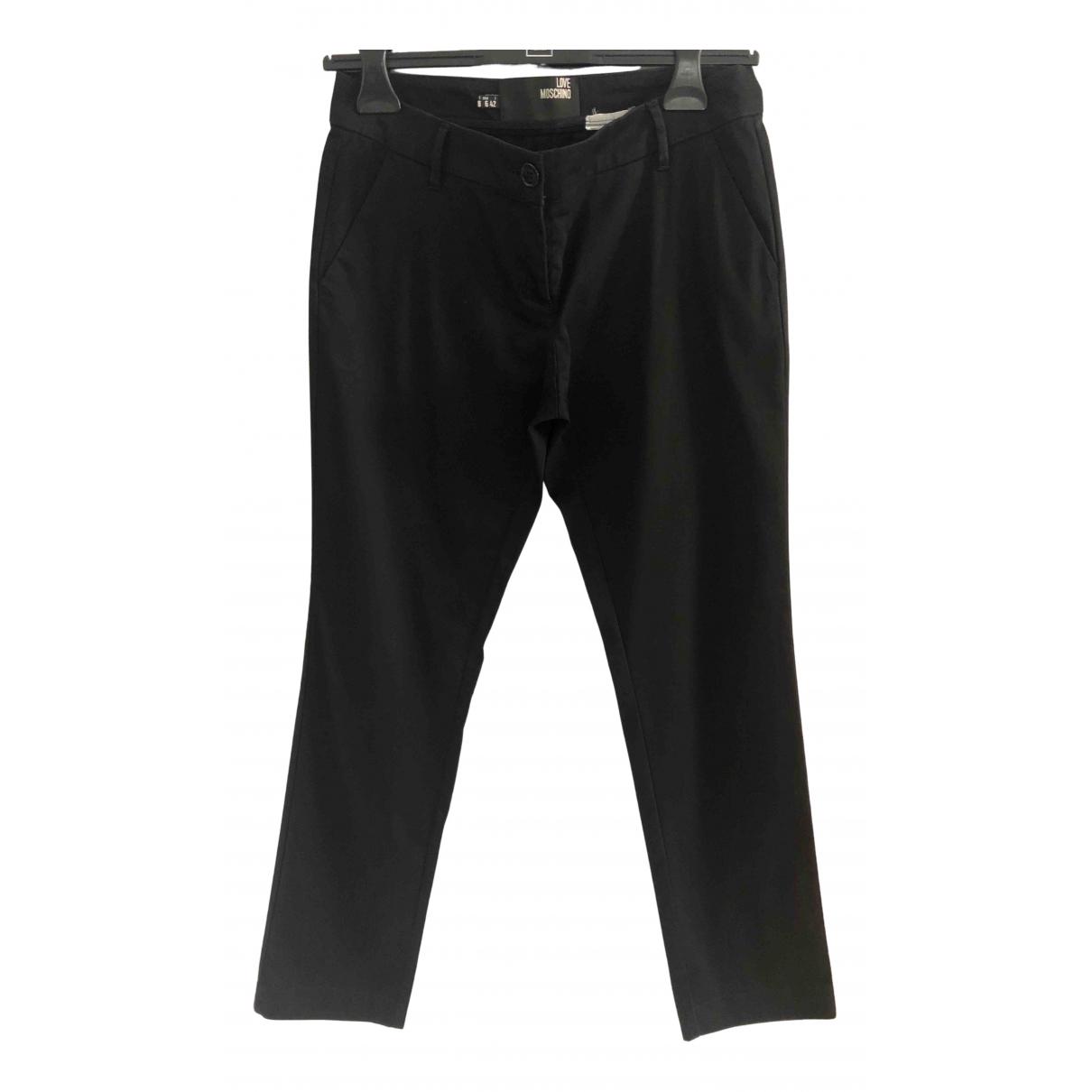 Pantalon recto Moschino Love