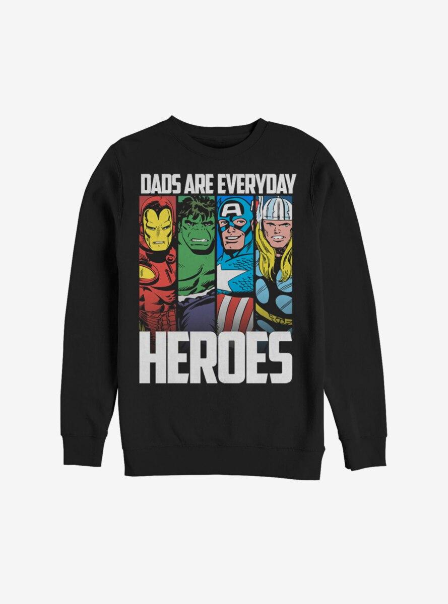 Marvel Avengers Everyday Hero Dad Sweatshirt