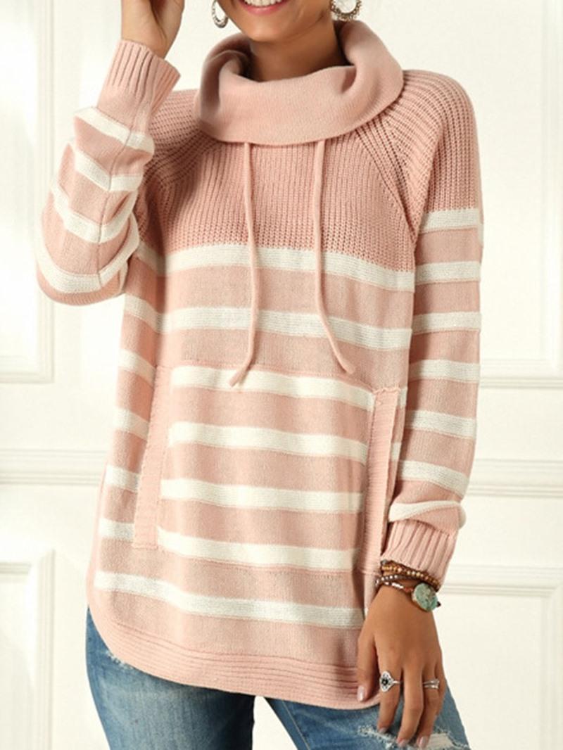 Ericdress Thin Regular Fall Turtleneck Sweater