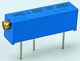 Bourns 1MΩ, Through Hole Trimmer Potentiometer 0.75W Side Adjust , 3006