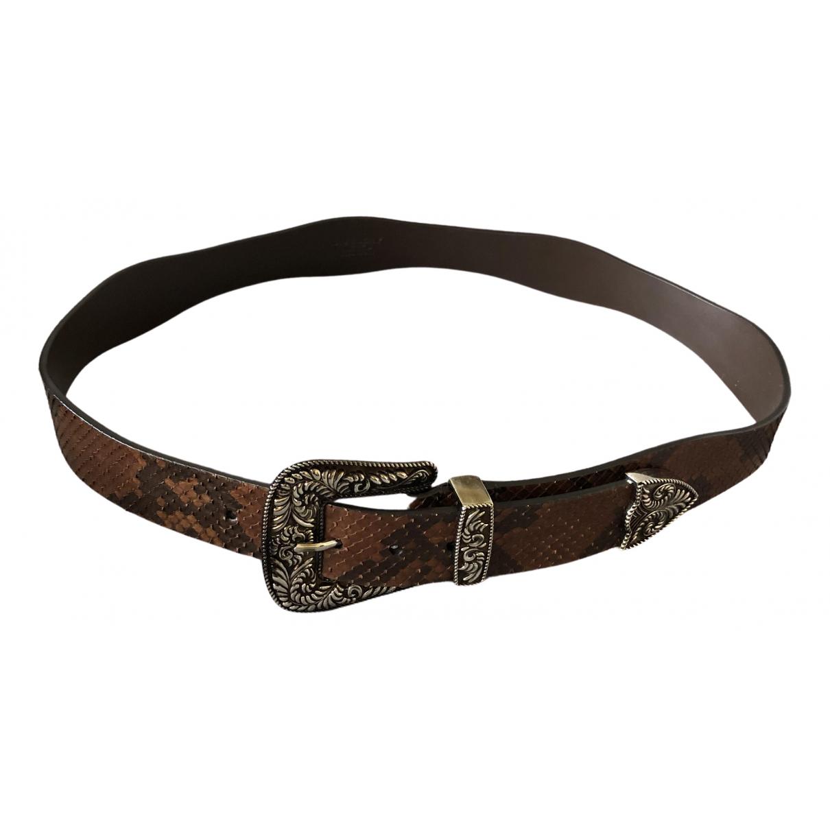 Cinturon de Piton Givenchy