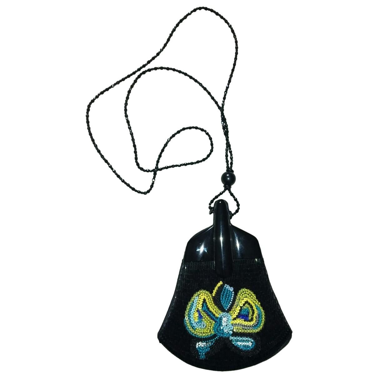 Giorgio Armani \N Black Cloth handbag for Women \N