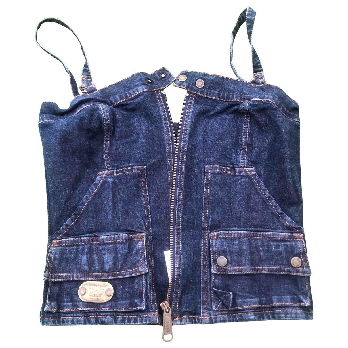 D&g \N Top in Denim - Jeans