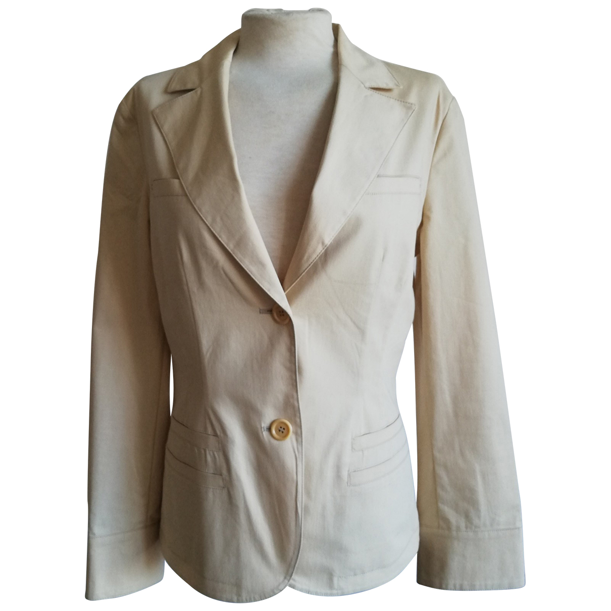 Max & Co - Veste   pour femme en coton - beige