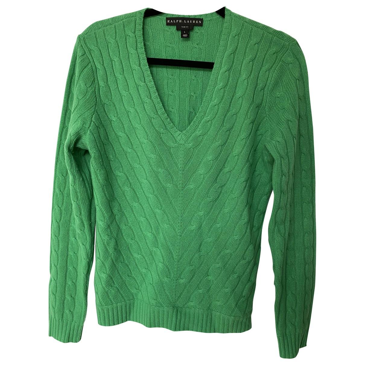 Ralph Lauren \N Pullover in  Gruen Kaschmir
