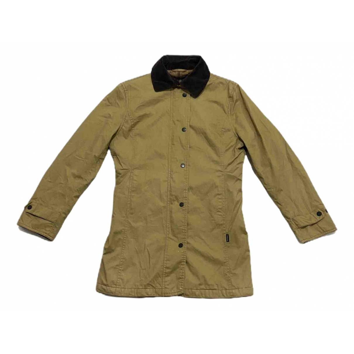 Barbour - Veste   pour femme en coton - beige