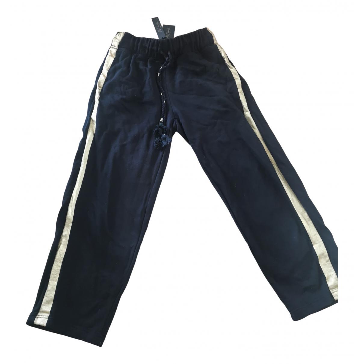 Mes Demoiselles ... N Black Cotton Trousers for Women 36 FR
