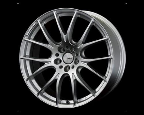 Homura 2X7 Wheel 19x8.5 5x114.3 38mm Spark Plated Silver