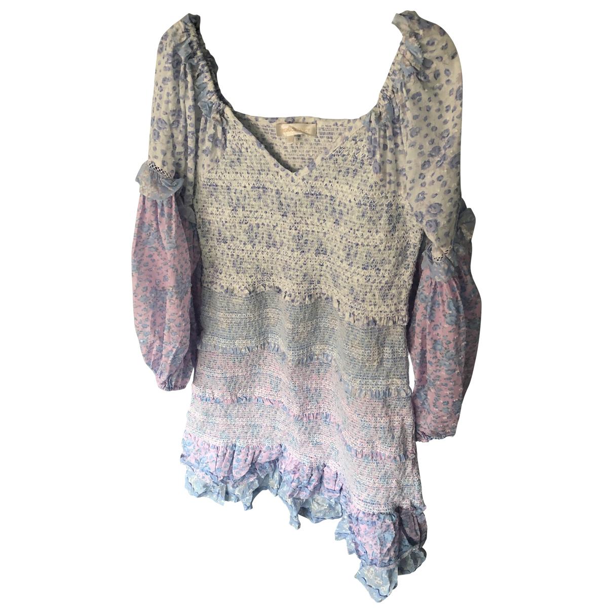 Love Shack Fancy \N Blue Cotton dress for Women S International