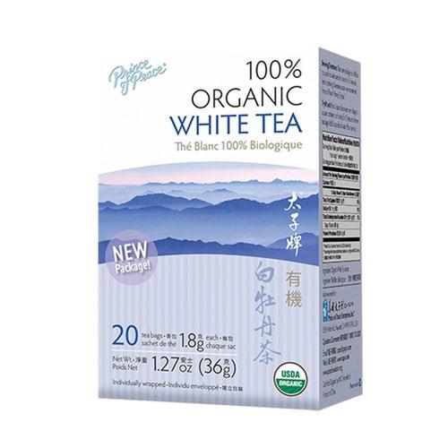Organic White Tea 20 Bag by Prince Of Peace