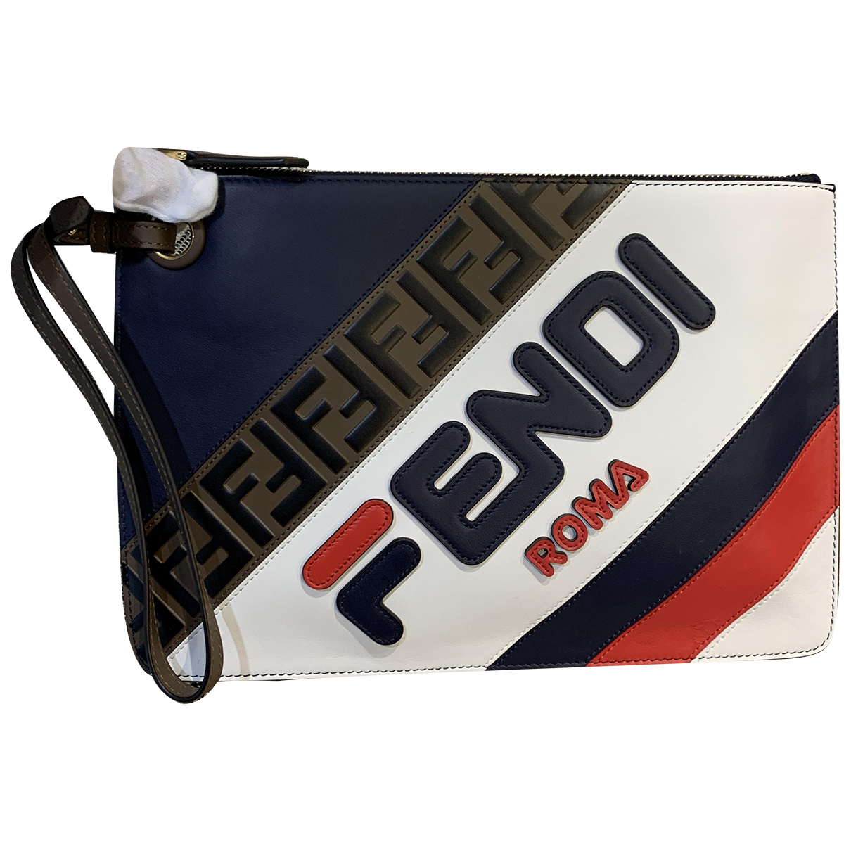 Fendi X Fila \N Multicolour Leather Clutch bag for Women \N