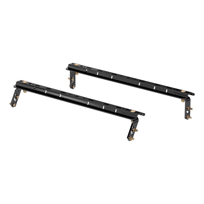Curt 16150 Universal 5th Wheel Base Rails (Gloss Black)