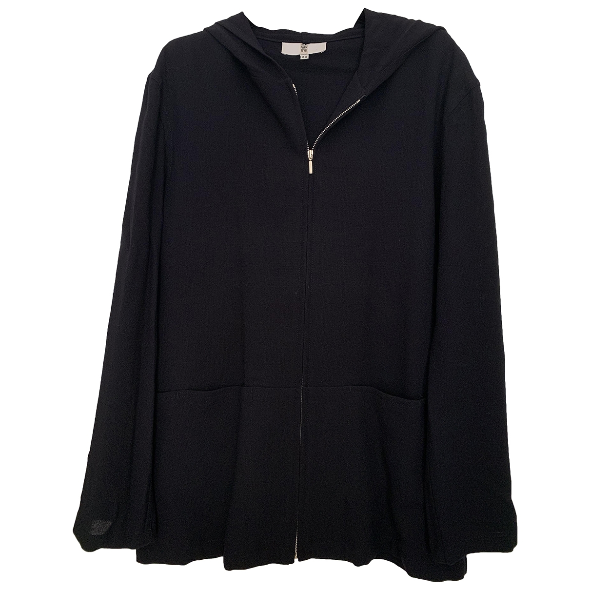 Irene Van Ryb \N Pullover in  Marine Wolle