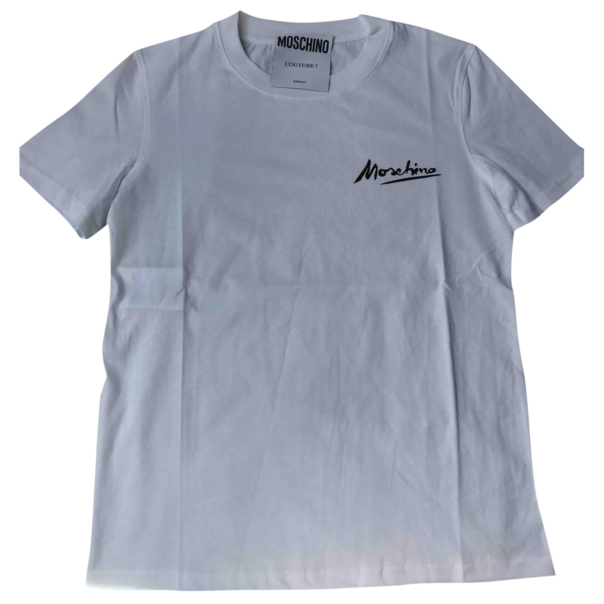 Moschino \N White Cotton  top for Women S International