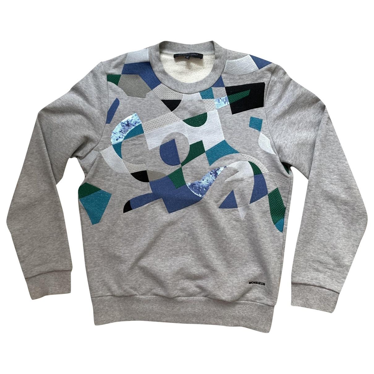 Viktor & Rolf \N Pullover.Westen.Sweatshirts  in  Grau Baumwolle