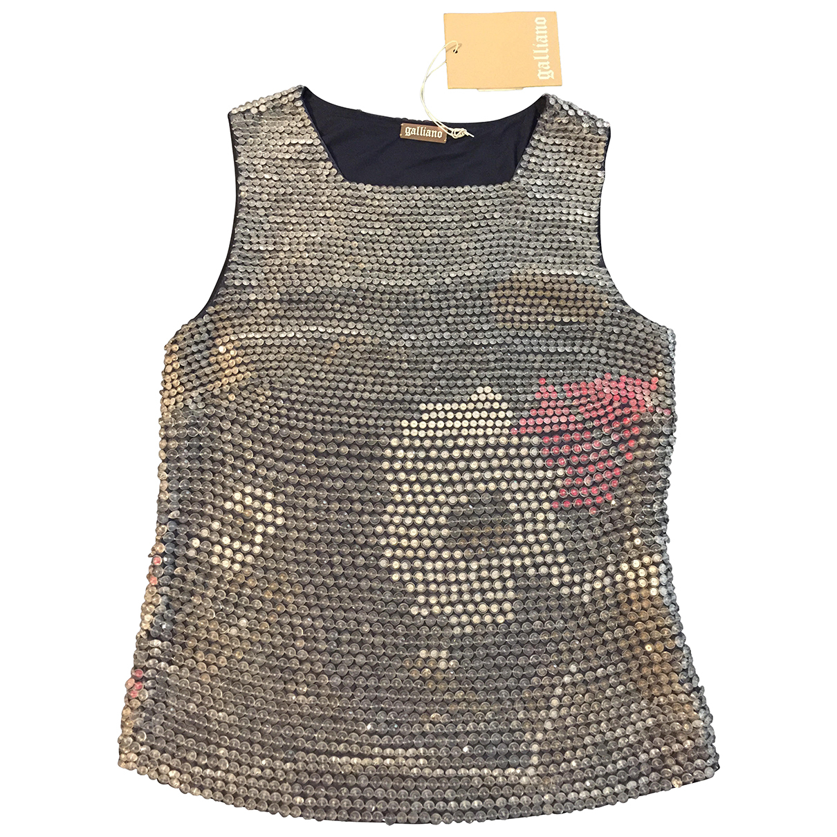 John Galliano \N Grey  top for Women 40 FR