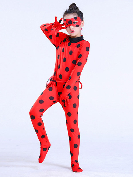 Milanoo Miraculous Ladybug Marinette Red Cosplay Costume Outfit