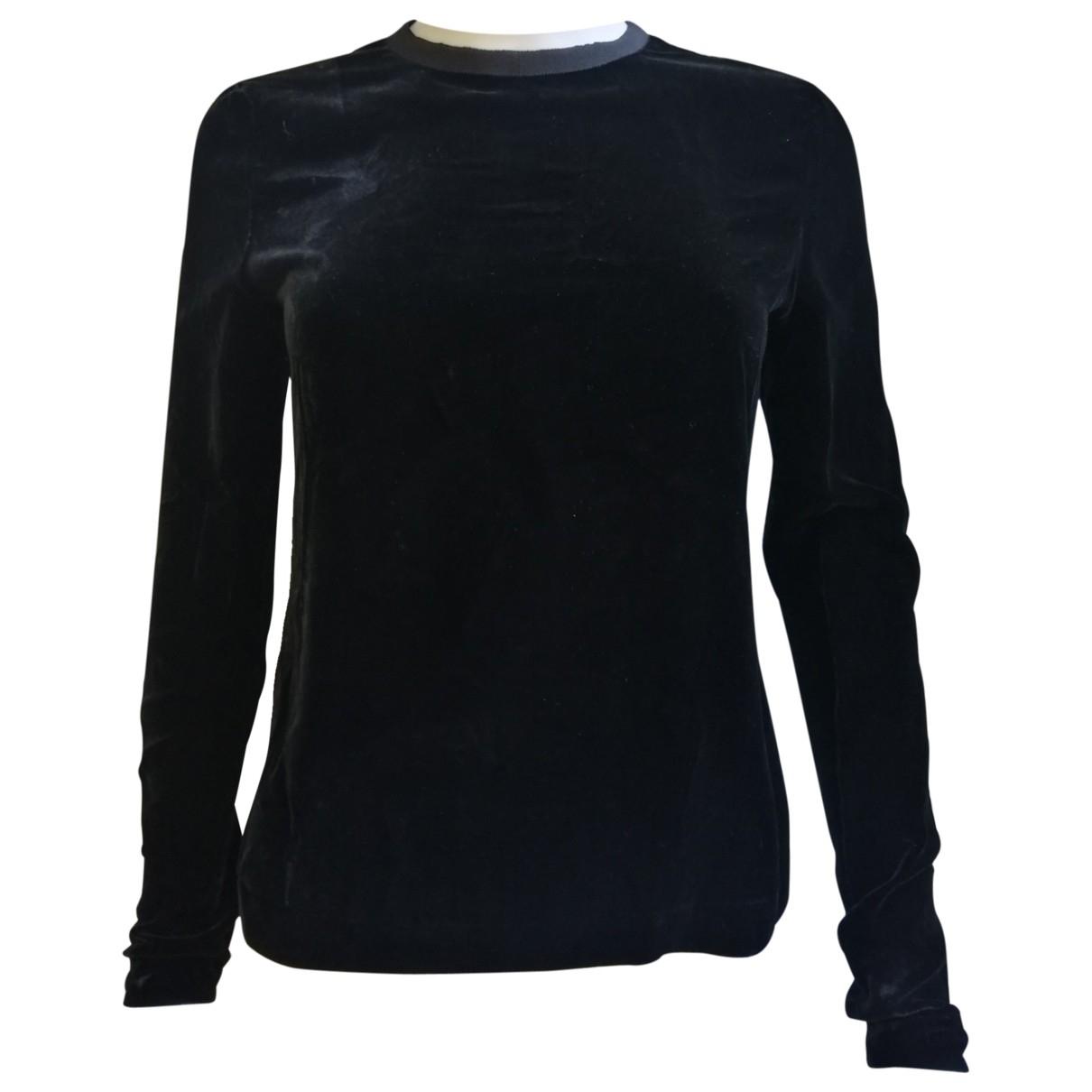 Guy Laroche \N Black Velvet  top for Women 38 FR