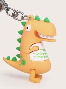 Cartoon Dinosaur Bag Charm