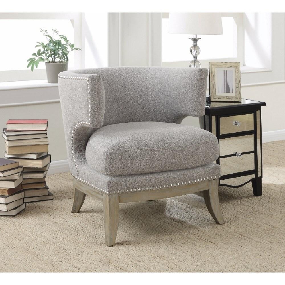 High-Class Accent Chair, Gray