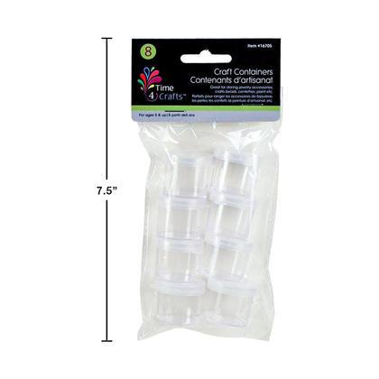 Mini conteneurs pour les perles, les paillettes, la vase, la peinture ou le stockage des graines