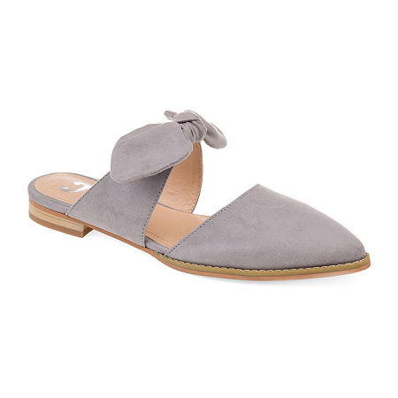 Journee Collection Womens Telulah Slip-On Shoe, 12 Medium, Gray