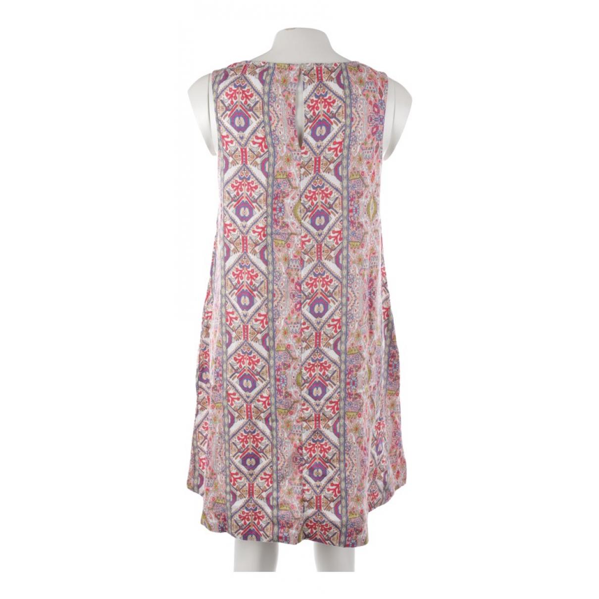 Rachel Zoe \N Kleid in  Bunt Leinen