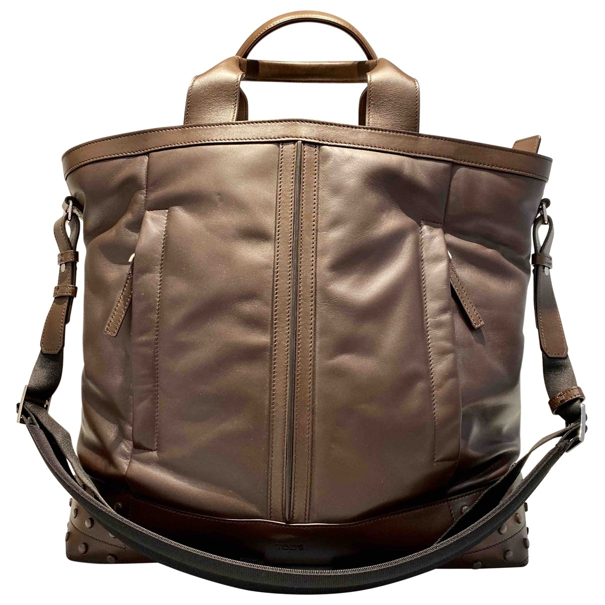 Tods \N Brown Leather bag for Men \N