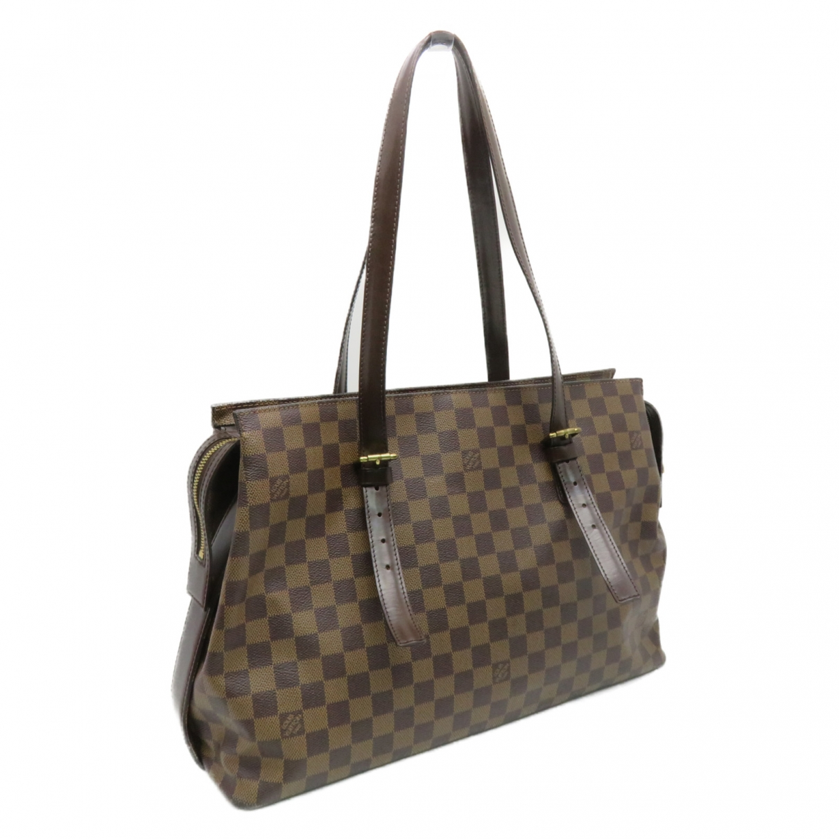 Louis Vuitton Chelsea Brown Cloth handbag for Women \N