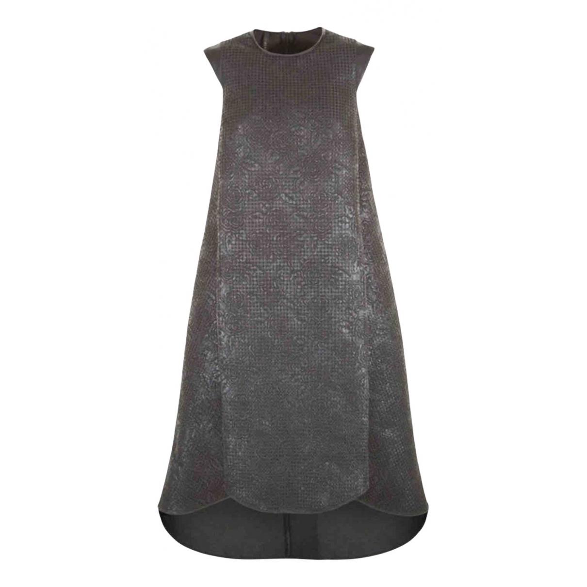 Imperial \N Kleid in  Schwarz Baumwolle
