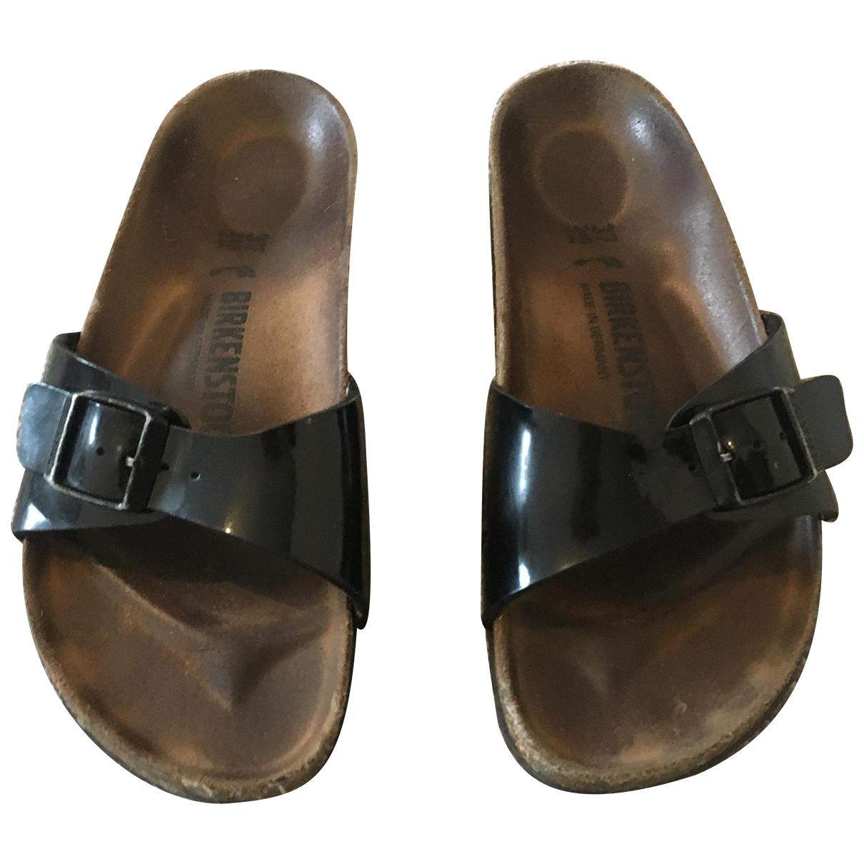Birkenstock - Sandales   pour femme - noir