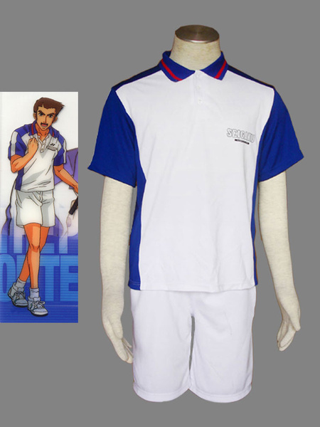Milanoo Prince Of Tennis Seishun Academy Tennis Wear For Summer Cosplay Costume